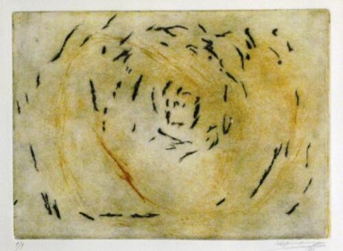 χαλκογραφία σε χαρτί Fabriano