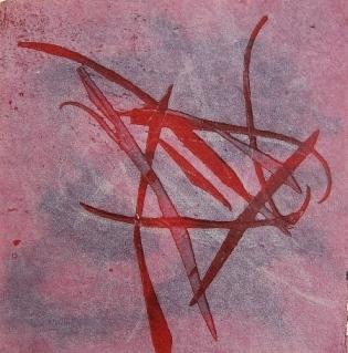κολλαγραφία σε ινδικό χαρτί cotton rag