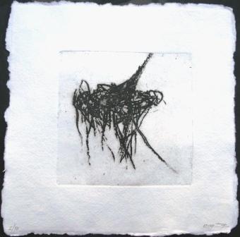 χαλκογραφία σε cotton rag