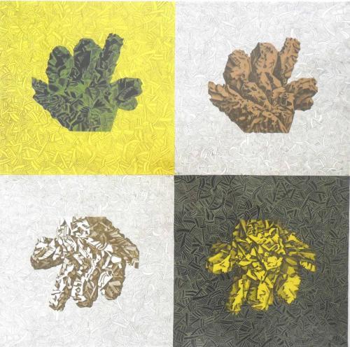 2007 composition 1 (45 x 45cm)